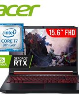 """NOTEBOOK ACER GAMING CORE i7 – SSD512 –16GB-VIDEO RTX2060  6GB """"Z675"""""""